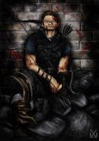 Hawkeye by XantheUnwinArt
