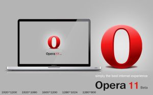 Opera 11 beta wallpaper pack 2 by TRIO-3