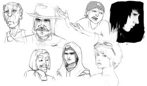 Character styles by UnInfinitum