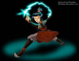 Yori possessed by Azula by Niban-Destikim