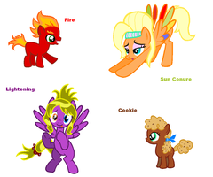 Themed adoptables 13-16 (CLOSED) by BronyBase