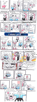Undertale Comic pages 1 and 2 by RoboPika20