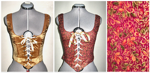 Red and Gold Bodice by oh-sew-fun