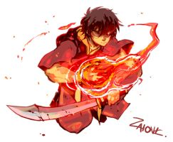 Avatar Zuko by zaionic