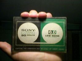 Tape SONY... O su caja? by carlosfelo
