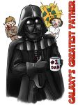 The Vader Family Badge by ScuttlebuttInk