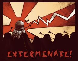 EXTERMINATE by sparklepunk