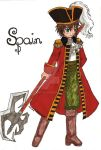 APH - pirate!Spain by Lukusta