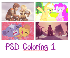PSD colorings 1 by LizziePony12