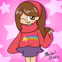 Mabel Pines by CandyAICDraw