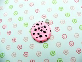 Strawberry Cookie Charm by JeanPrideaux