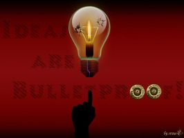 Ideas are Bulletproof by by-ermal