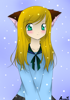 Me as a neko girl by Anka77744
