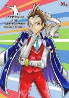 Apollo Justice: MotherFatherGent-OBJECTION!! by Marini4