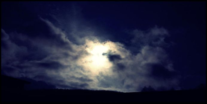 Dark Clouded Sun by Procyonidae