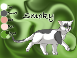 Smoky the Horseplace Cat - Waning Moon by Jayie-The-Hufflepuff