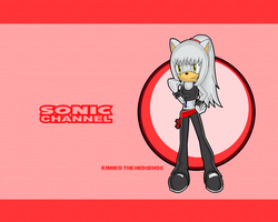 Commission: Kimiko the Hedgehog Sonic Channel by skysong-angel