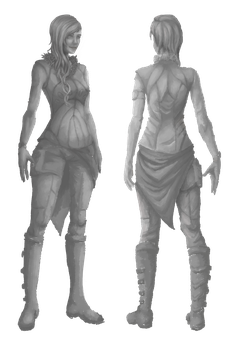 3D Animation (semi-)Final Character Concept by LightWorldMidna