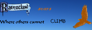 Harry Potter- Ravenclaw banner by RainbowLeaf9987