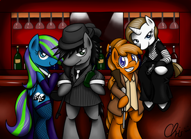 Commission. BlowBack and his gang by NekoCrispy