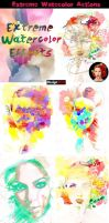 Extreme Watercolor Actions ( 8 Photo Effects) by Designslots