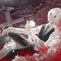 kaneki is chilling by Ciriu