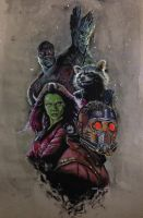 Guardians of the Galaxy by GabeGault