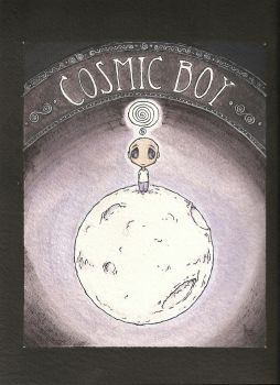 Cosmic Boy - Illustration 01 by amartires
