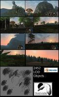 2452 LOD Objects by DennisH2010
