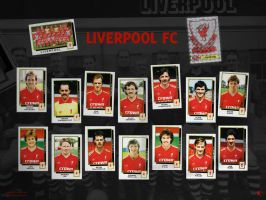 Liverpool Retro Stickerbook by kitster29