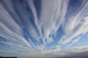 Fan clouds by CAStock