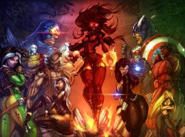 X-Men vs Avengers_COLOR by vest