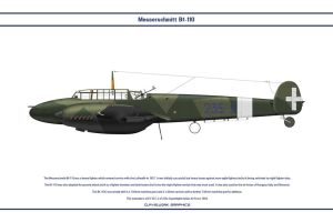 Bf 110 Italy 1 by WS-Clave