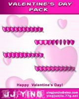 Valentine's Day Pack_cur by JJ-Ying