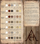 (NEW) The American Clay Horse: Clay Color Palatte by 11IceDragon11