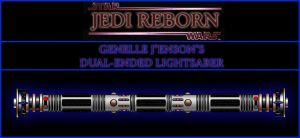 Genelle J'enson's Lightsaber by Rayloth