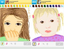 Draw Something!!! (Day 147) by Hedwigs-art