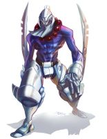 Cyborg Ninja the Great by 3nrique