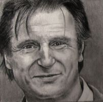 Liam Neeson by silenthero1