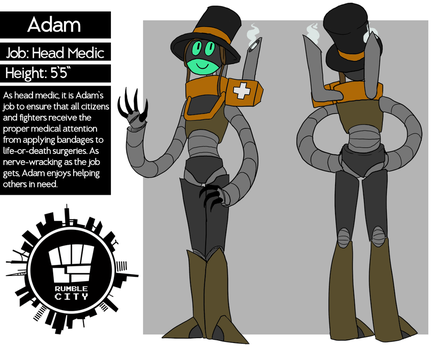 Rumble City NPC - Adam by LulzyRobot