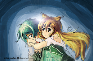 Valentines Couple Competition - Shining Couples by anime-master-96