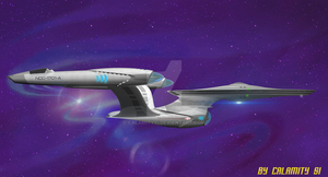Reimagined USS Enterprise NCC-1701-A : 4 by calamitySi