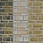 Seamless Sandstone Brick Textures 01 by Carel5103