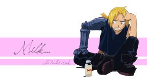 FMA - Milk? by SerialKiller1313