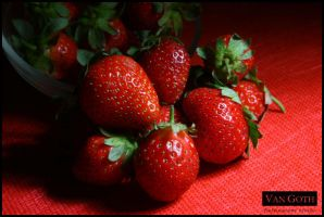 strawberries 01 by emsvangoth