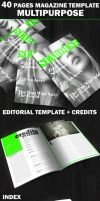 40 Pages Multipurpose Magazine by duemilacentododici