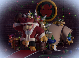 A Koopa Khristmas by SmashingRenders