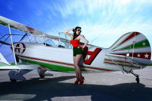 Pin Up Aviator Girl v.3 by hollowone