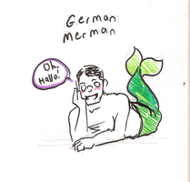 TF2- The German Merman by Solitude6
