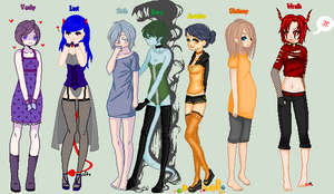 Finished Deadly Sin Collab~! by GingerMama